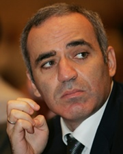 Chess Grandmaster and Political Activist Garry Kasparov