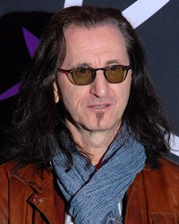 Singer-songwriter Geddy Lee
