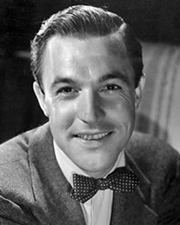 Actor and Dancer Gene Kelly
