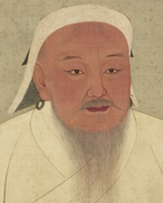 Great Khan of the Mongol Empire Genghis Khan