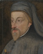 Author and Poet Geoffrey Chaucer