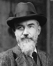 Playwright George Bernard Shaw