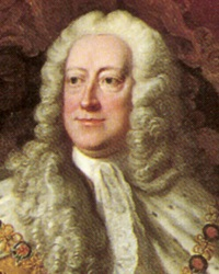 King of Great Britain and Ireland George II