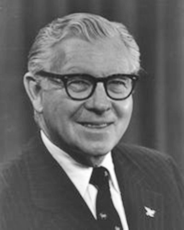 Actor and Senator George Murphy
