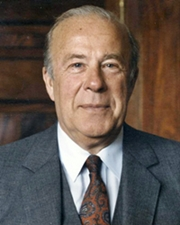 US Secretary of State George P. Shultz