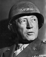 US WWII General George S. Patton