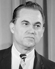 Governor of Alabama and Segregationist George Wallace