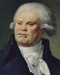 Politician and Revolutionary Georges Danton