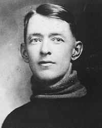 NHL Goalie Georges Vezina