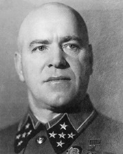 Marshal of the Soviet Union Georgy Zhukov