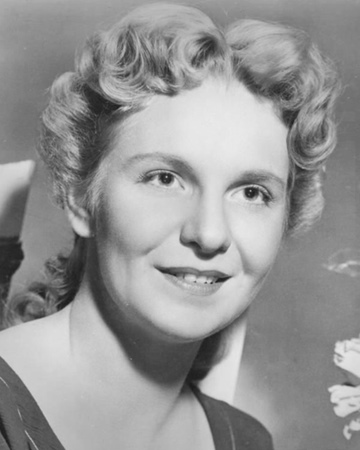 Actress Geraldine Page