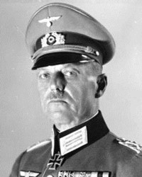 German General Gerd von Rundstedt