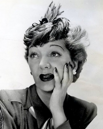Actress and Musical Performer Gertrude Lawrence