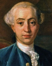 Adventurer, Writer and famous Lover Giacomo Casanova