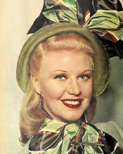 Actress and Dancer Ginger Rogers