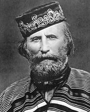 Unifier of Italy Giuseppe Garibaldi