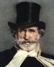 Composer Giuseppe Verdi