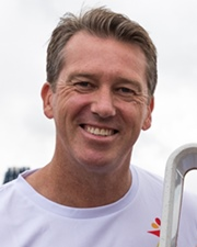 Cricketer Glenn McGrath