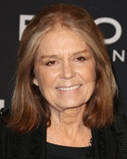 Journalist Gloria Steinem