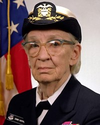 Computer Scientist and Admiral Grace Hopper