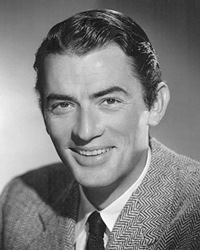 Actor Gregory Peck