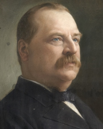 Grover Cleveland Us President On This Day