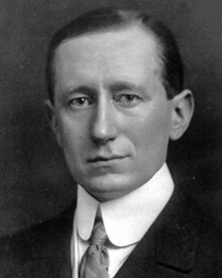 Inventor and Nobel Laureate Guglielmo Marconi