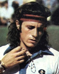 Tennis Player and Four-Time Major Champion Guillermo Vilas