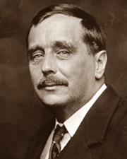 Author H. G. Wells