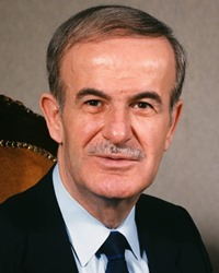 General and President of Syria Hafez al-Assad