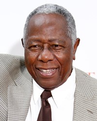 Baseball Player Hank Aaron