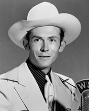 Country Music Singer and Songwriter Hank Williams
