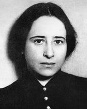 Political Theorist Hannah Arendt