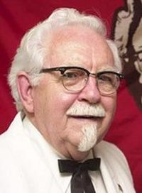 Businessman and Restaurateur Colonel Sanders