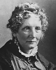 Abolitionist and Author Harriet Beecher Stowe