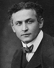 Magician and Escape Artist Harry Houdini