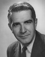 Journalist Harry Reasoner
