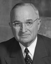 33rd US President Harry Truman