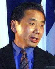 Writer Haruki Murakami