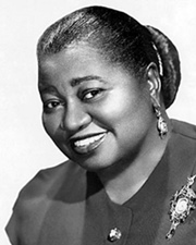 Actress Hattie McDaniel