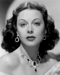 Actress and Inventor Hedy Lamarr