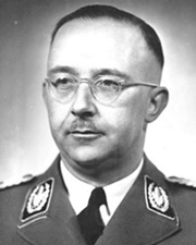 Leading Nazi and Reichsführer of the SS Heinrich Himmler