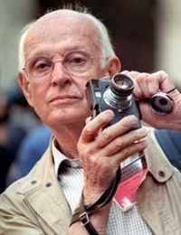 Photographer Henri Cartier-Bresson