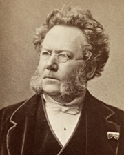 Playwright Henrik Ibsen