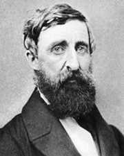 Naturalist/Pacifist Henry David Thoreau