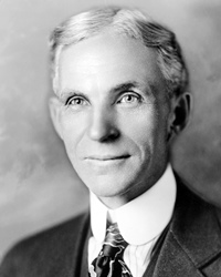 Ford Motor Company Founder Henry Ford