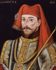 King of England and Lord of Ireland Henry IV of England