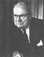 Industrialist Henry J. Kaiser