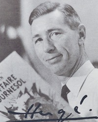 Cartoonist Hergé