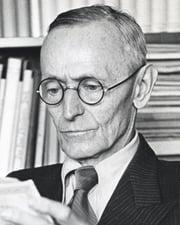 Nobel Laureate Novelist Hermann Hesse